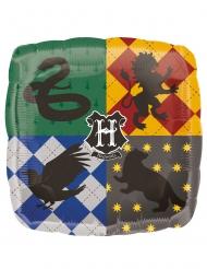 Vierkante Harry Potter™ Zweinstein aluminium ballon