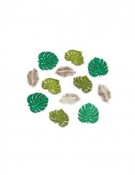 12 groene tropische bladeren versieringen