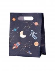 4 kartonnen astronaut cadeauzakjes