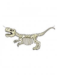 Kartonnen skelet dinosaurus banner