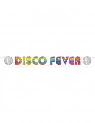 Kartonnen disco fever banner