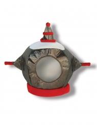 Robot helm van stof voor kinderen