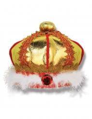 Koning kroon van stof voor kinderen