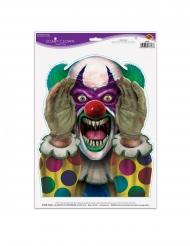 Enge clown sticker
