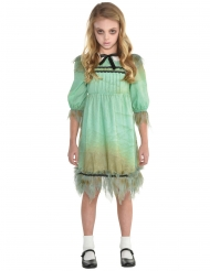 Enge horror tweeling kostuum voor meisjes