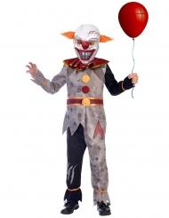 Evil horror clown kostuum voor jongens
