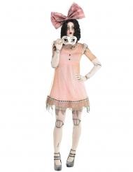 Angstaanjagende horror pop kostuum voor vrouwen