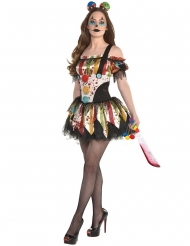 Bloederige clown outfit voor dames