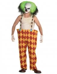 Sinistere clown kostuum voor mannen
