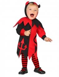 Kleine duivel kostuum voor baby