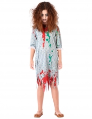 Zombie nachtjapon kostuum voor meisjes