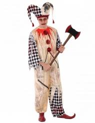 Bloederig harlekijn kostuum voor tieners