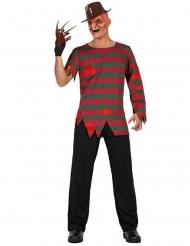 Nachtmerrie killer kostuum voor mannen