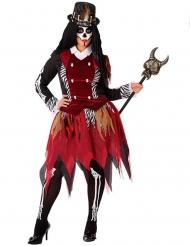 Voodoo heks kostuum voor dames - Plus Size