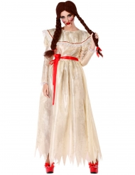Vintage evil pop kostuum voor vrouwen