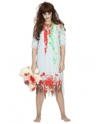 Zombie nachtjapon outfit voor vrouwen