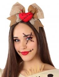 Voodoo pop haarband voor volwassenen