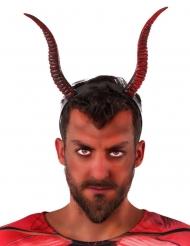 Haarband met duivel hoorns voor volwassenen