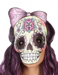 Dia de los Muertos skelet masker van vilt voor volwassenen