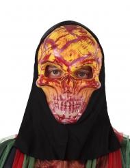 Rood skelet masker voor volwassenen