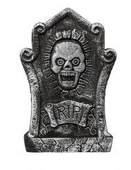 Grijze grafsteen decoratie