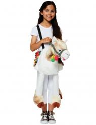 Lama carry me kostuum voor kinderen