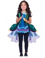 Op de rug van een pauw kostuum voor kinderen