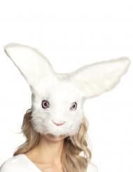 Pluche konijn masker voor volwassenen