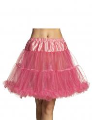 Roze half lange onderrok voor vrouwen