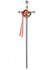 Plastic musketier zwaard