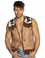 Lichtbruin western jasje voor mannen