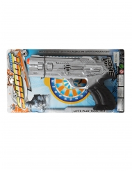 Zilverkleurig nep politie pistool