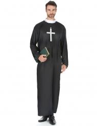Priester kostuum voor mannen - Grote maten