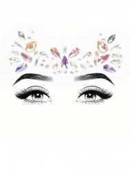 Pastelkleurige gezichtsjuwelen voor volwassenen
