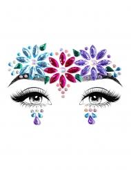 Dahlia gezicht juwelen voor volwassenen