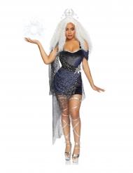 Luxe maan koningin outfit voor vrouwen