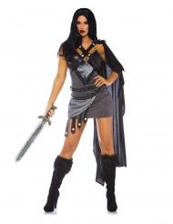 Luxe sexy troon strijder kostuum voor vrouwen
