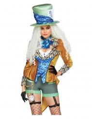 Luxe excentrische hoedenmaker outfit voor dames