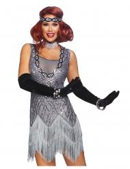 Luxe glitter charleston kostuum voor vrouwen