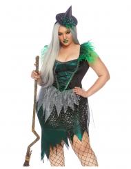Luxe heks van het westen kostuum voor vrouwen - Plus Size