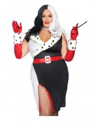 Duivelse diva kostuum voor vrouwen - Plus Size