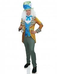 Luxe excentrische hoedenmaker kostuum voor mannen