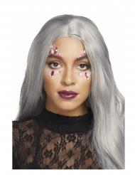 Zinnia gezichtsjuwelen voor volwassenen