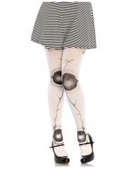 Gebroken pop panty voor dames