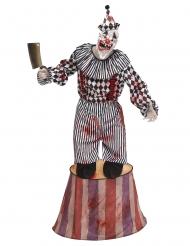 Horror clown op podium kostuum voor volwassenen