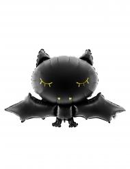 Aluminium zwarte vleermuis ballon