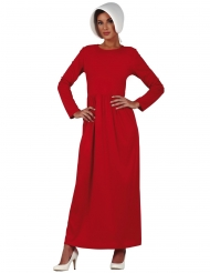 Rood dienstmeisje kostuum voor vrouwen