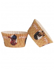 20 papieren Ladybug™ cupcakevormen