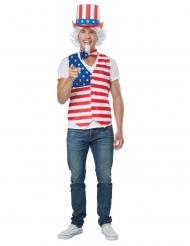 Amerikaanse patriot kostuum voor volwassenen