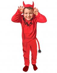 Klassieke rode duivel outfit voor jongens